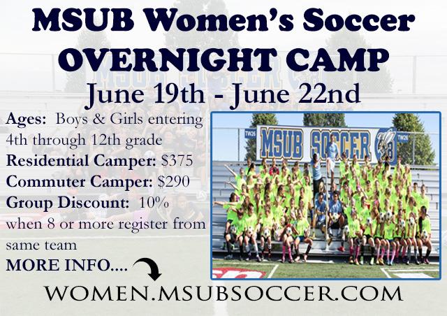 2017 MSUB Overnight Camp