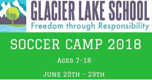 Glacier Lake School - Soccer Camp 2018