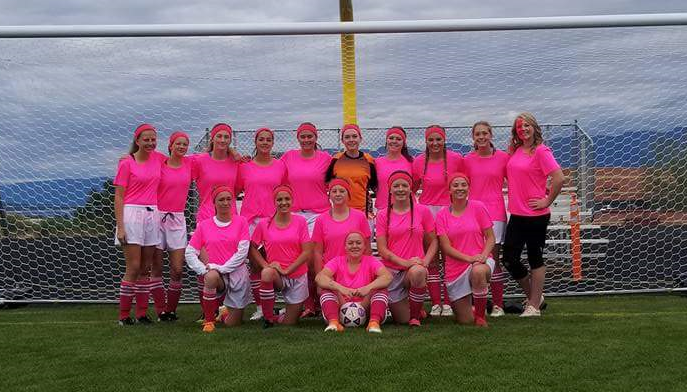 PHS Girls Pink Jerseys